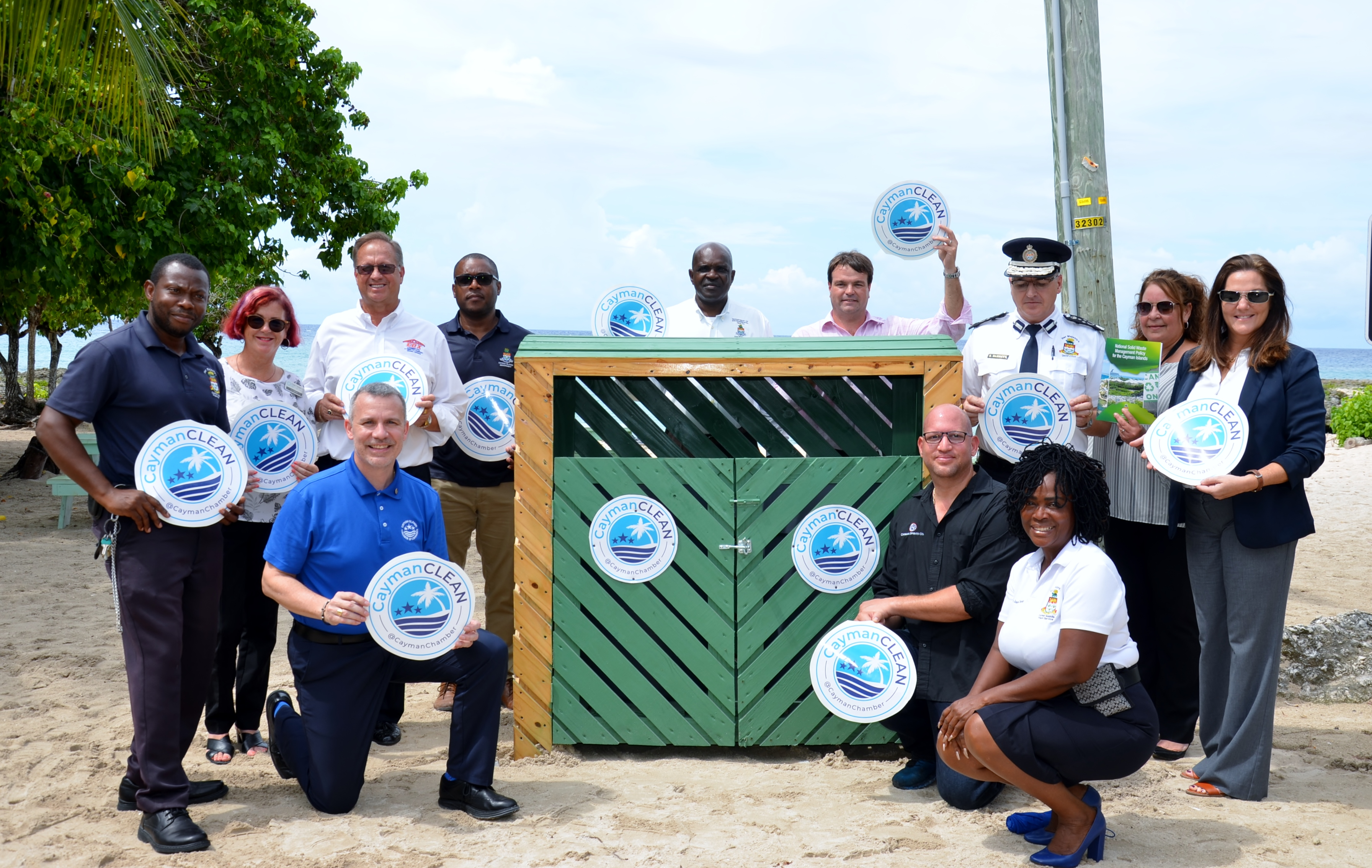 Cayman Clean launch group picture (3rd October 2019).