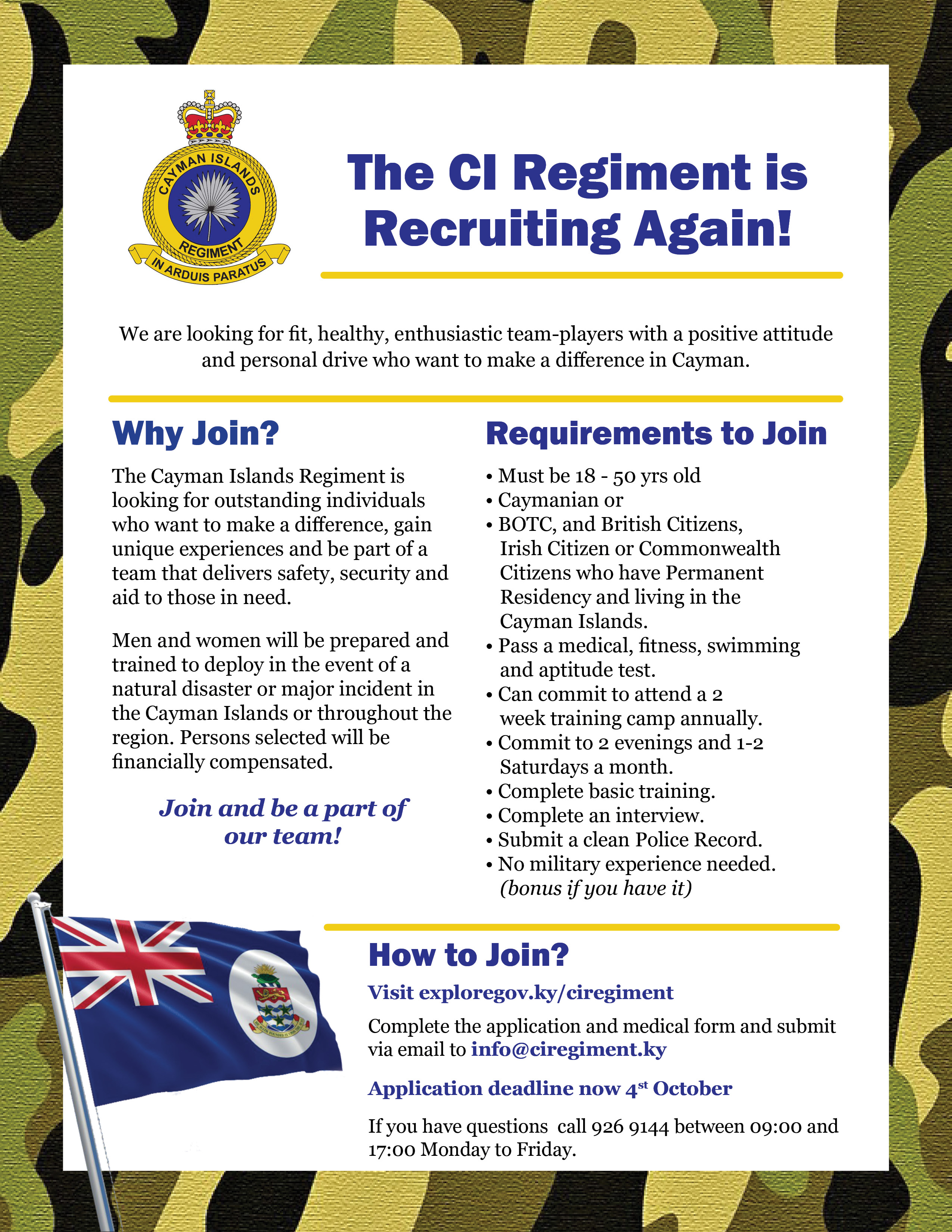 Regiment_2nd Recruitment Flyer_deadline extendedv2