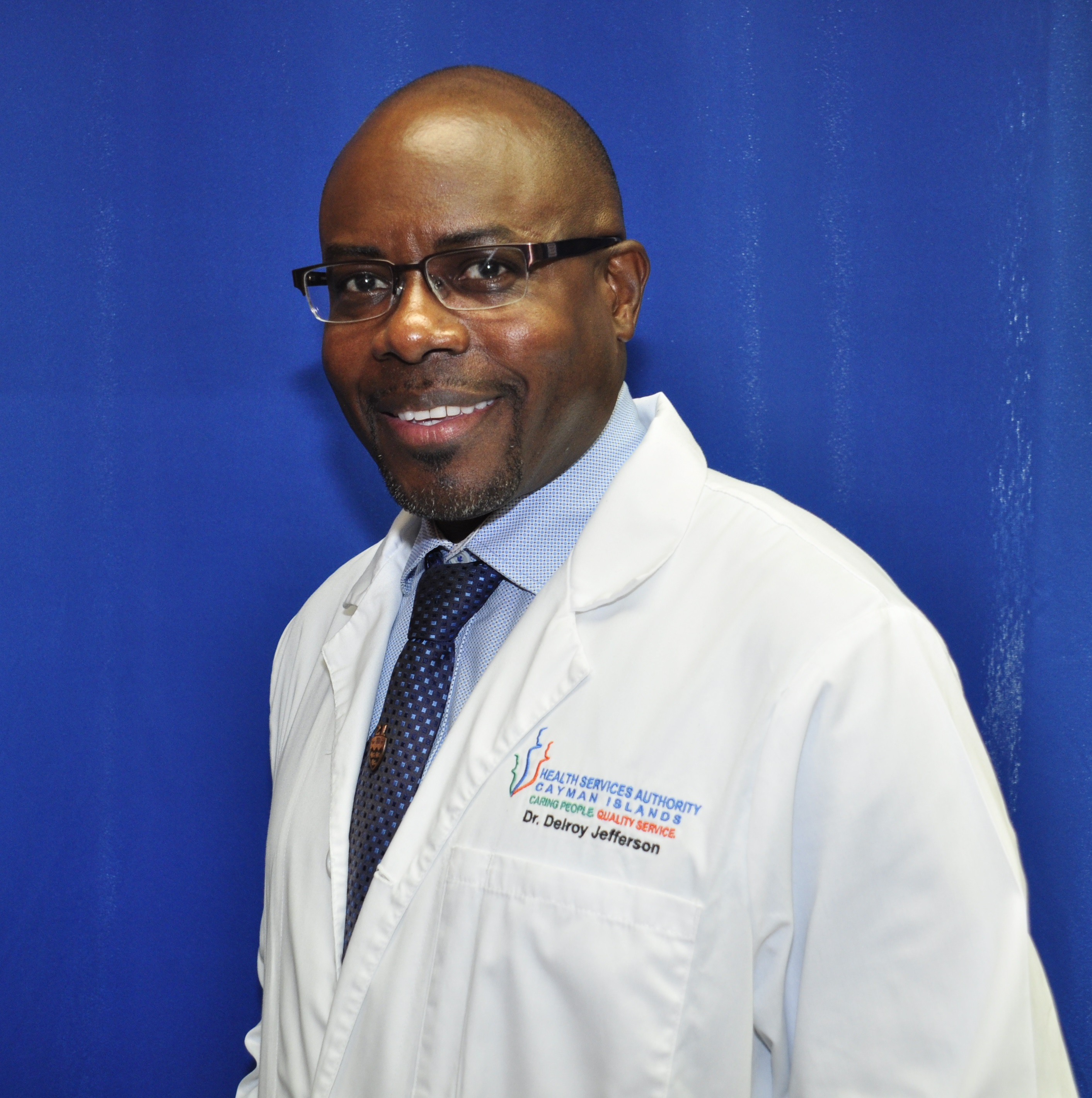 Dr Delroy Jefferson, Medical Director, Health Services Authority