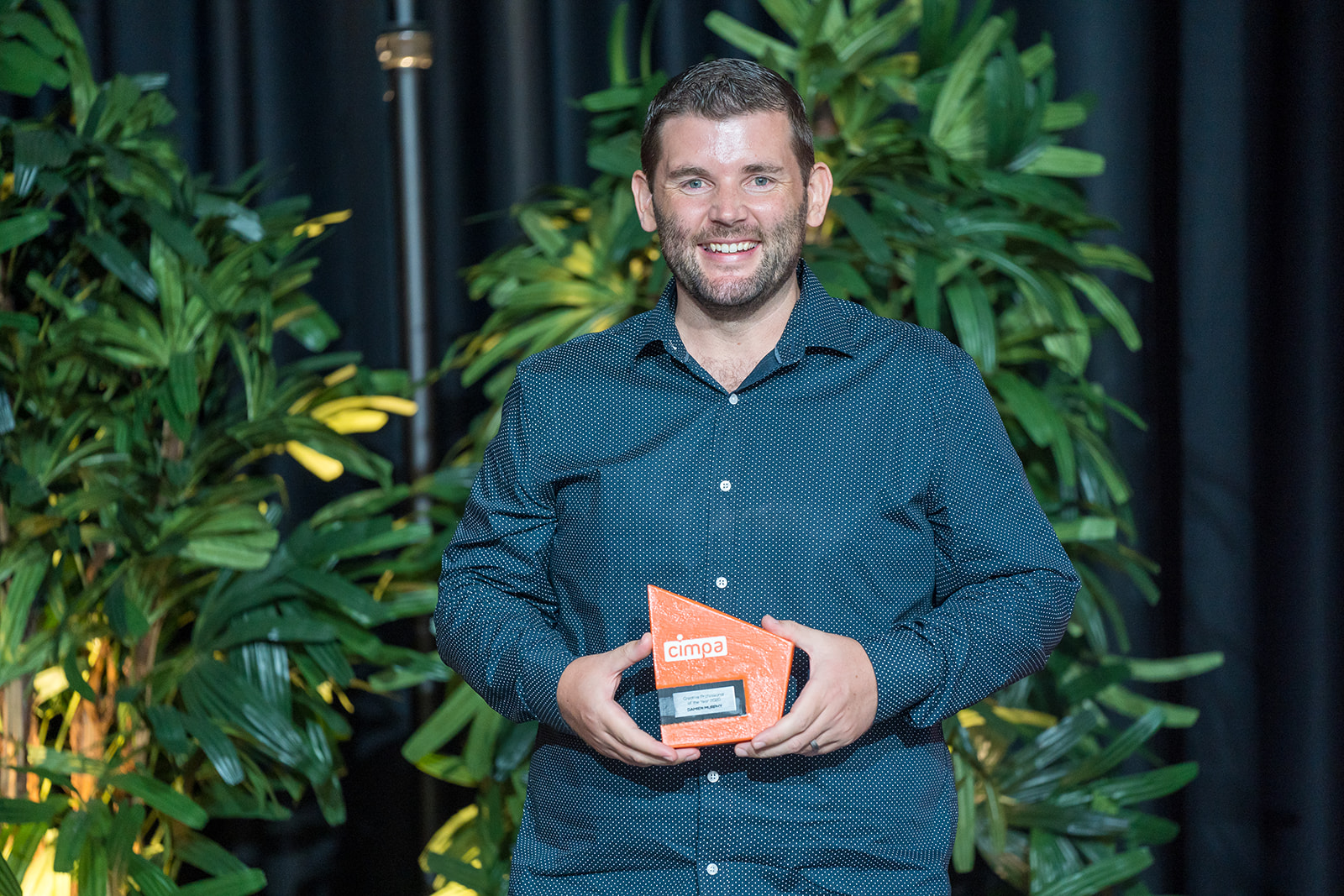Damien Murphy was named Creative Professional of the Year