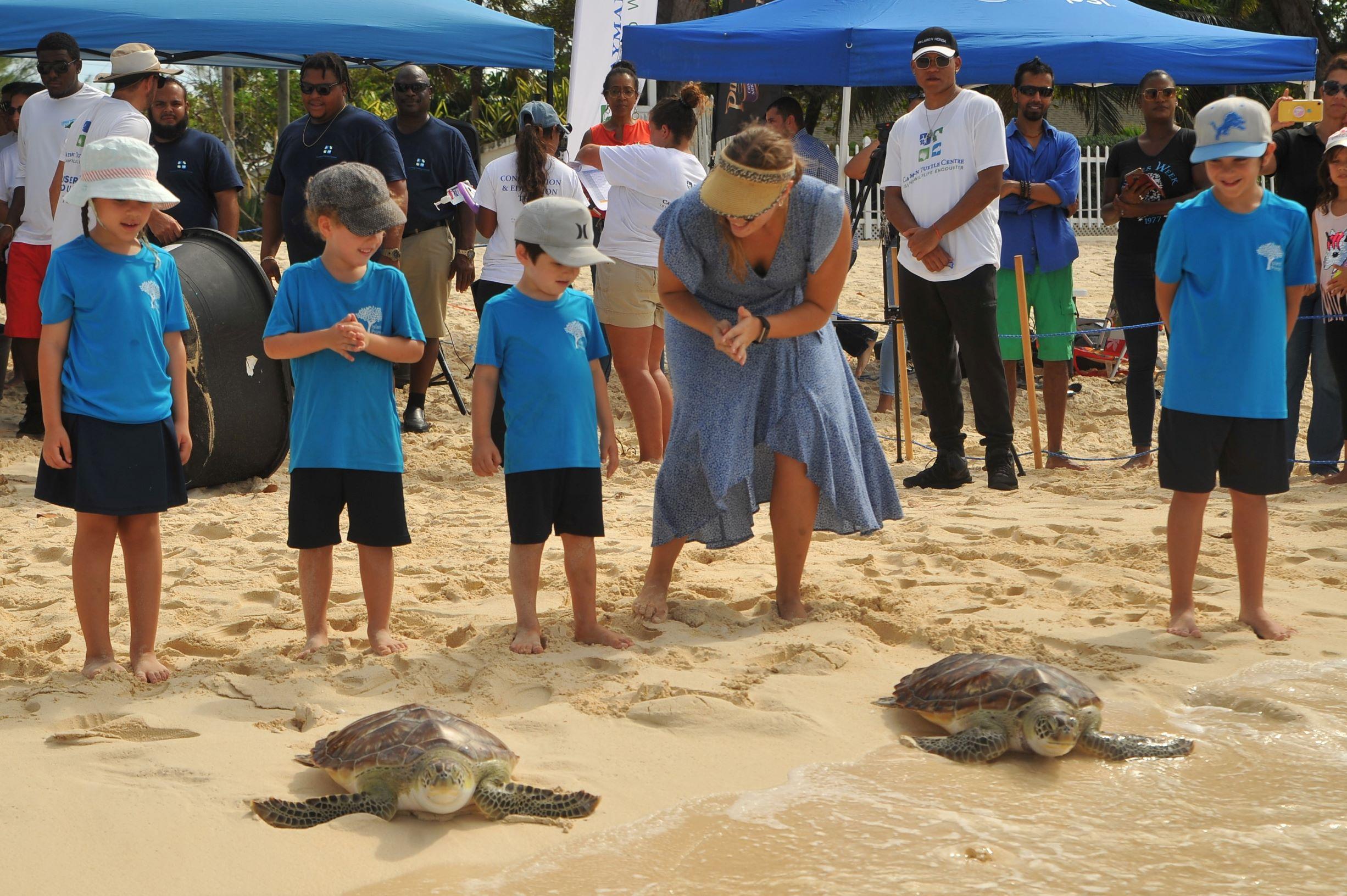 Pirates Turtle Release (4)